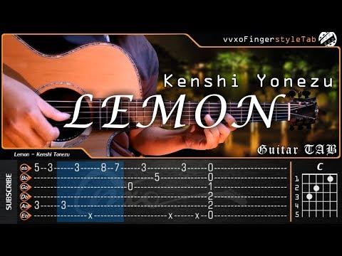 LEMON - 米津玄師 Kenshi Yonezu - Fingerstyle Guitar Cover | TAB Tutorial