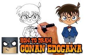 How to Draw Conan Edogawa | Case Closed