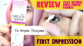 REVIEW Olay Natural White Pinkish Fairness (INDONESIA)