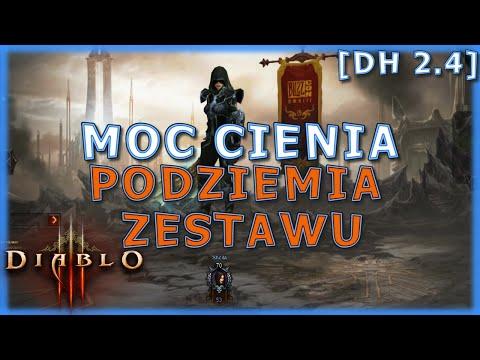 Diablo 3 PST 2.4 - DH Moc Cienia - Podziemia zestawu