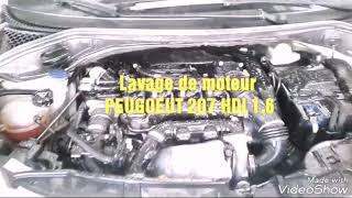 Lavage moteur (207 HDI 1.6 ) Station-Services Auto MEDDAS