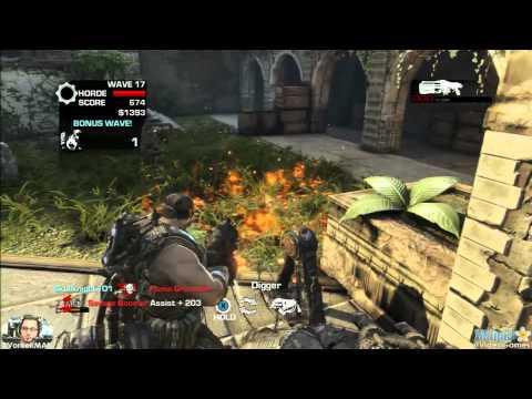 Gears of War 3 Horde - Mercy w/ Avik Wave 17 (Normal)