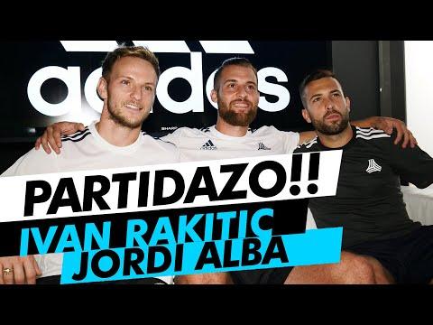 IVAN RAKITIC JORDI ALBA GUIDOFTO (Partido de Futbol)