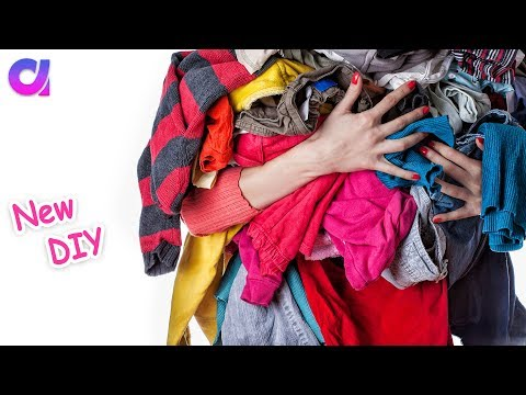 5 best Old Clothes reuse ideas you Must Try | clothes recycling | Artkala 335
