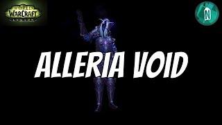 Alleria Void   WoW Legion Argus patch 7.3