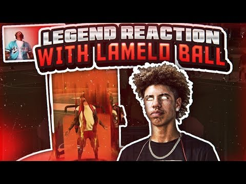 THE RETURN OF 2K17 WE HIT LEGEND WITH LAMELO BALL🔥! HE WAS CHERRY PICKING THE WHOLE GAME🤣