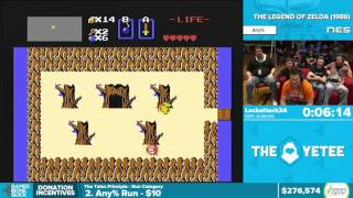 The Legend of Zelda by Lackattack24 in 30:14 - Awesome Games Done Quick 2016 - Part 50