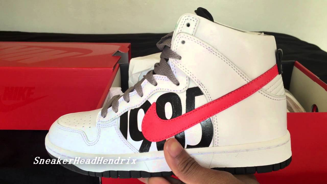 UNDEFEATED NIKE DUNK HIGH LUX