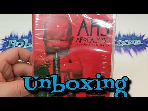 American Horror Story Apocalypse DVD Unboxing