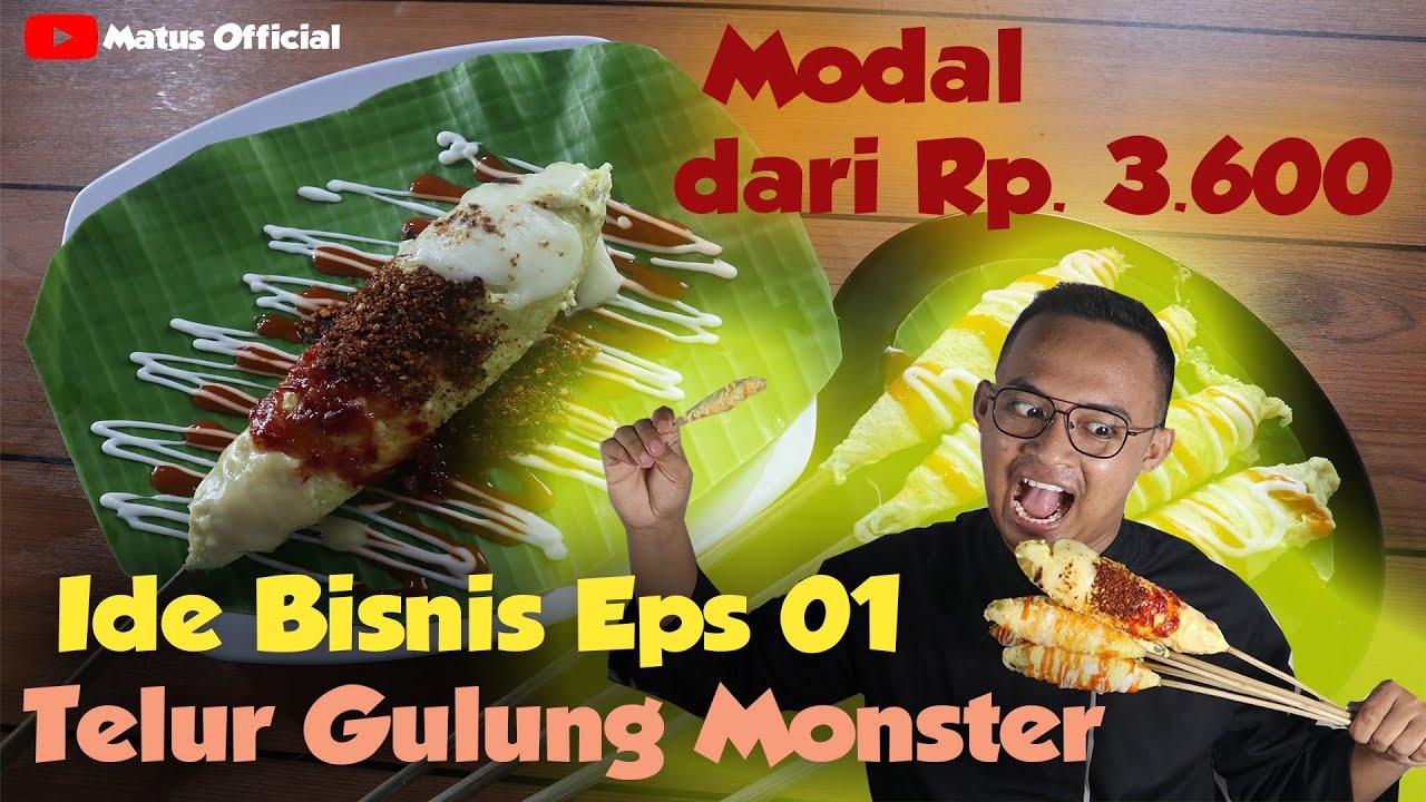 Ide Bisnis Telur Gulung Monster Berbagai Topping | Makanan ...