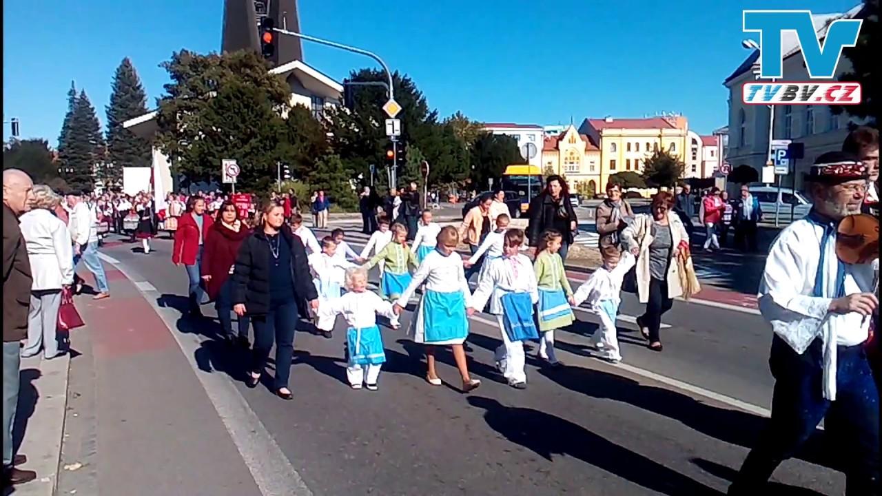 Krojovaný průvod - Břeclavské svatováclavské slavnosti 2018