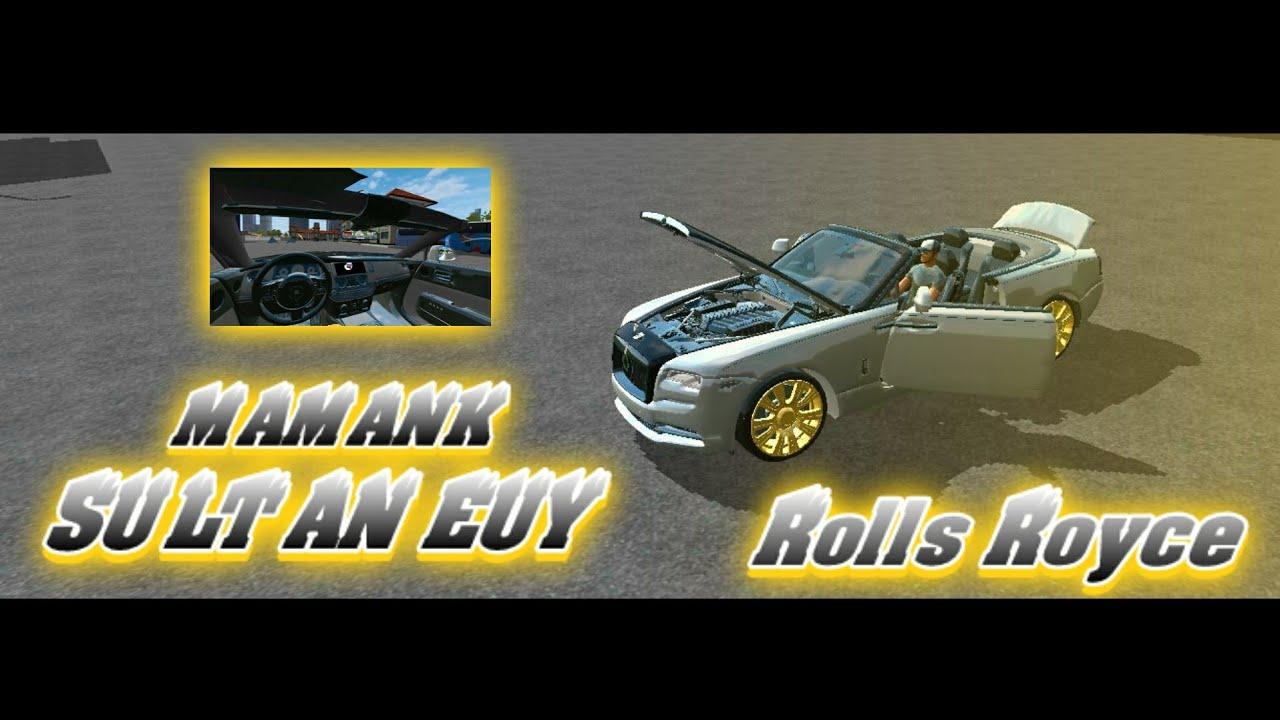 Rolls Royce Dawn Car Mod for Bus Simulator Indonesia – SGCArena