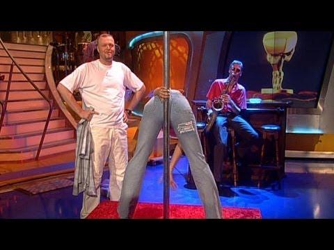 Strip-Unterricht für Stefan - TV total classic