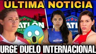 ¡URGE DUELO INTERNACIONAL! ¿MÉXICO ESTÁ A PUNTO DE TERMINAR?   EXATLON ESTADOS UNIDOS 24 DE FEBRERO