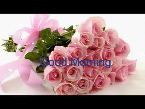 Good Morning Wishes With Beautiful Flowers Wallpaper,Pink Flowers