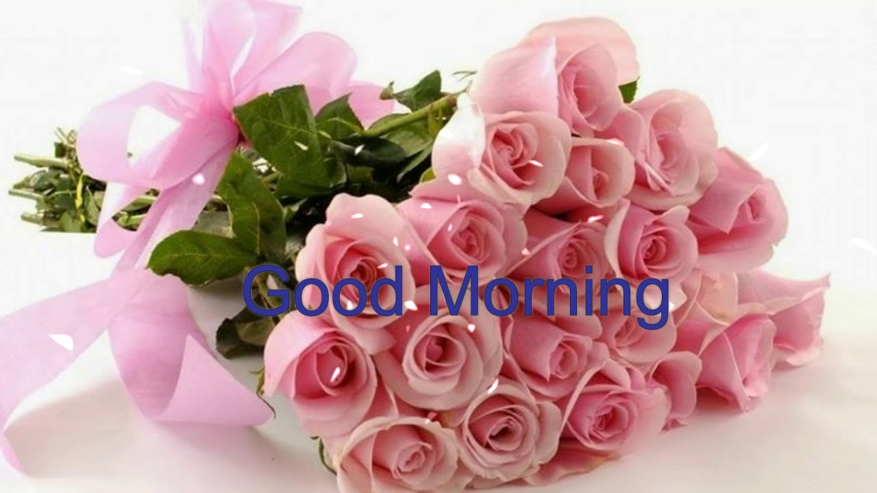 Good Morning Wishes With Beautiful Flowers Wallpaper Pink Flowers