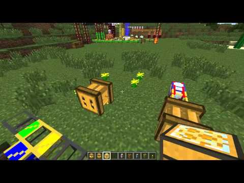 Minecraft - Poradnik - Forestry Moistener Apiary Centifruge