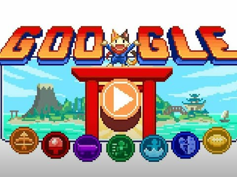 Google Doodle - Tokyo Olympics 2021; Español