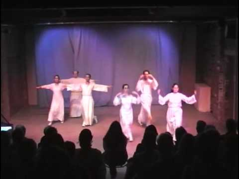 Eurythmy West Midlands: Bach, Minuet in G minor: 2nd-year students