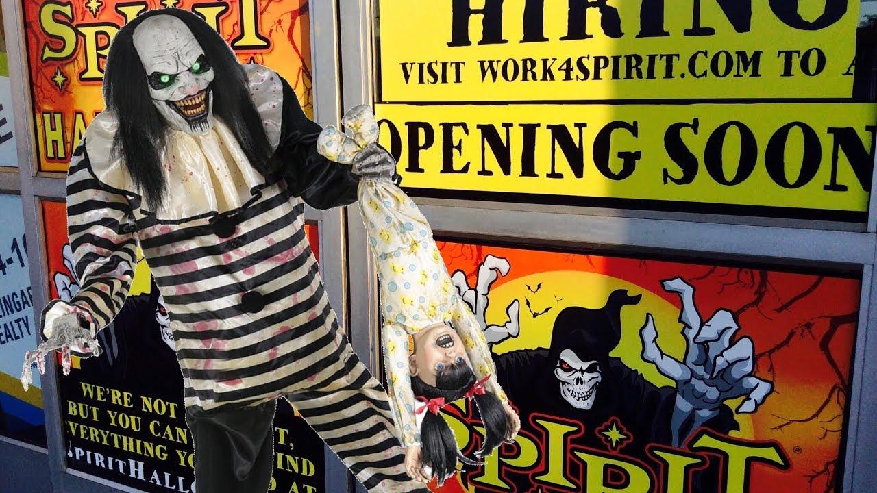Spirit Halloween  Updates