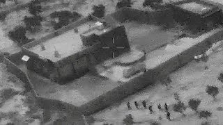 Us Release Footage Of Raid On Al-baghdadi's Compound In Syria