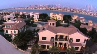 Dubai, The Palm, Kempinski hotel and Frond
