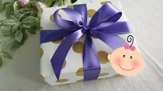 한번에 십자리본 묶는 법 | 가장 많이 쓰는 리본 Gift Wrapping - How to Tie a Perfect Bow