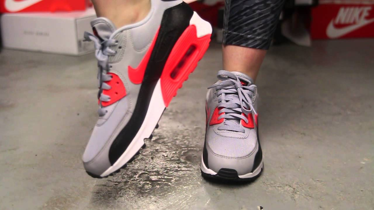 Nike Air Max 90 Grey Red