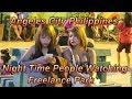 Angeles City Philippines : Night Time People  Watching / Freelance Park