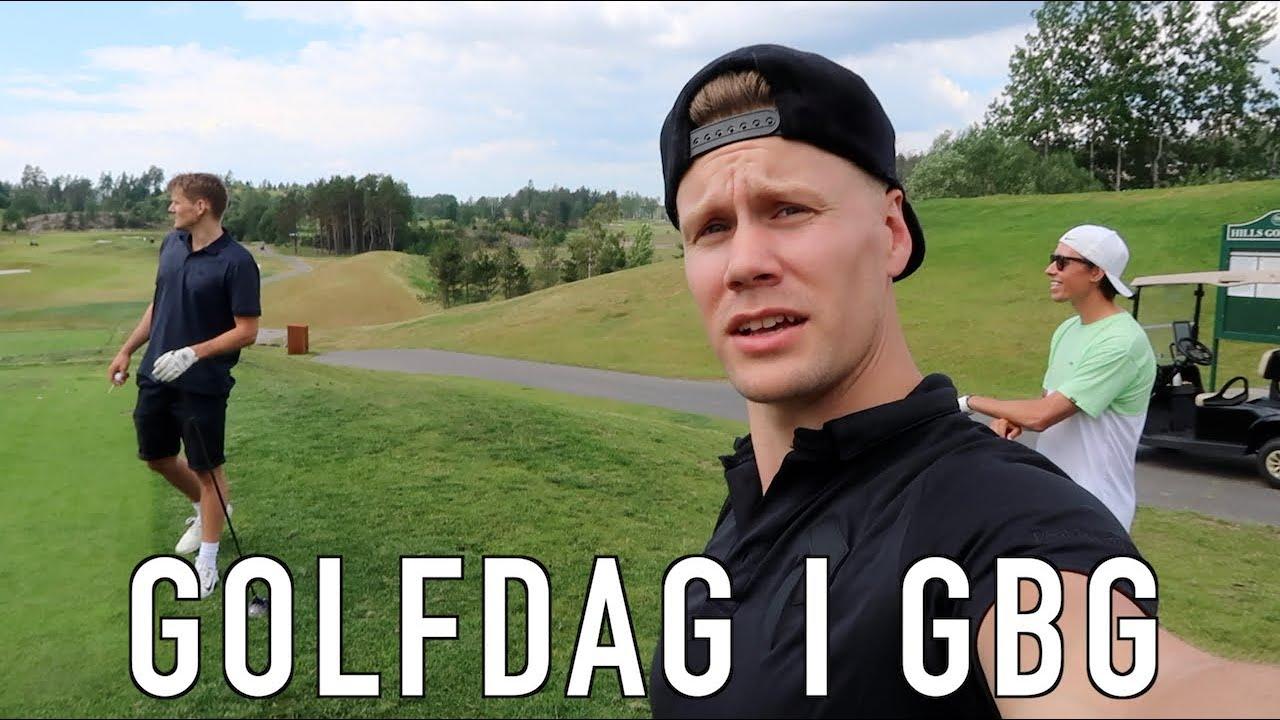 VLOGGTURNÉ 2020 | Golfdag i GBG (VLOGG #69)