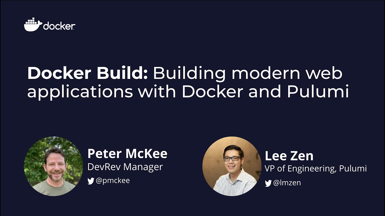 Docker Build: Building Modern Web Applications with Docker and Pulumi
