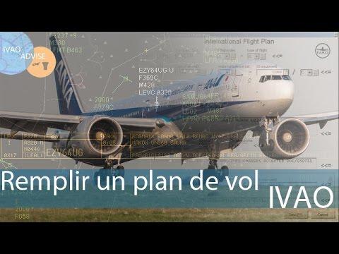 [IVAO FR]  PILOT  Comment utiliser et remplir un plan de vol IVAP