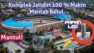 Update Kawasan Stadion Jatidiri Semarang.