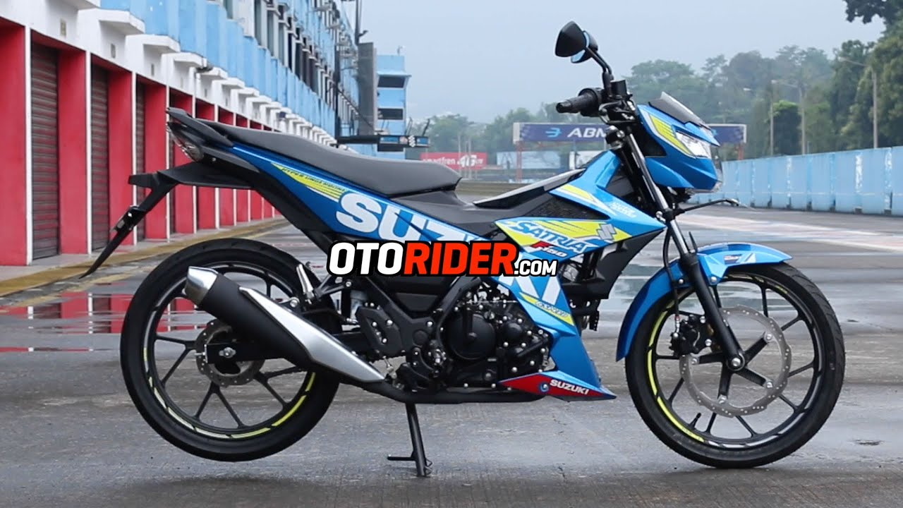 First Ride Suzuki All New Satria F150