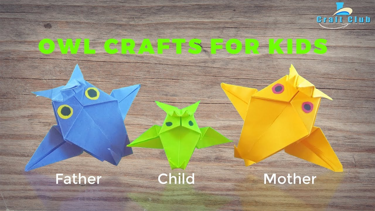 Crafts Ideas For Kids Learn Owl Crafts For Kids Preschool Fun Crafts