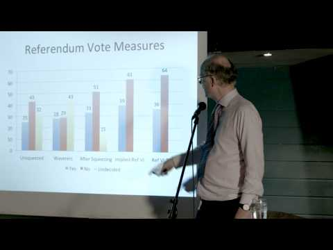 Is Scotland Going to Vote Yes (Or No)? - Prof. John Curtice