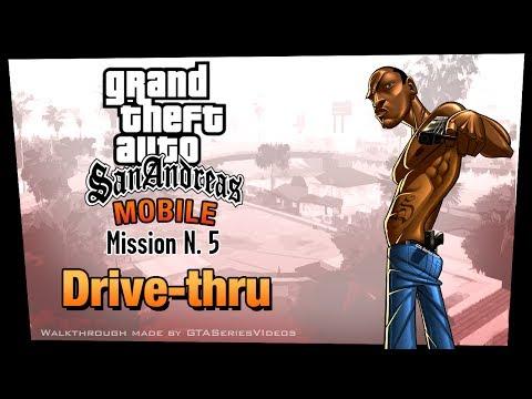 GTA San Andreas - IPad Walkthrough - Mission #5 - Drive-Thru (HD)