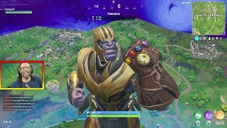 THANOS HUNTING IN FORTNITE! - How to Find Thanos in Fortnite - *NEW* Thanos UPDATE - Daryus P