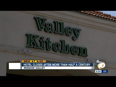 Mission Valley hotel closes after more than half a century