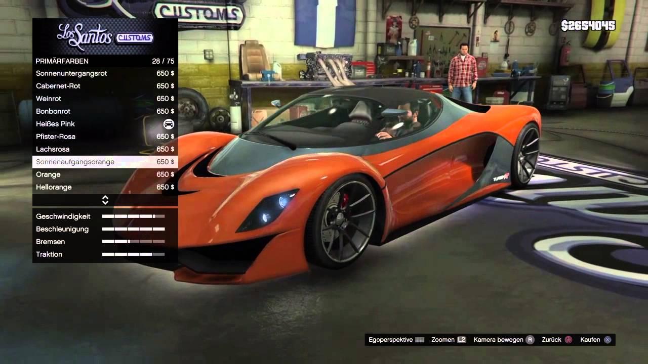 GTA 5 Turismo R Tuning-Video! - YouTube