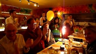 Birthday greetings - Czech style!