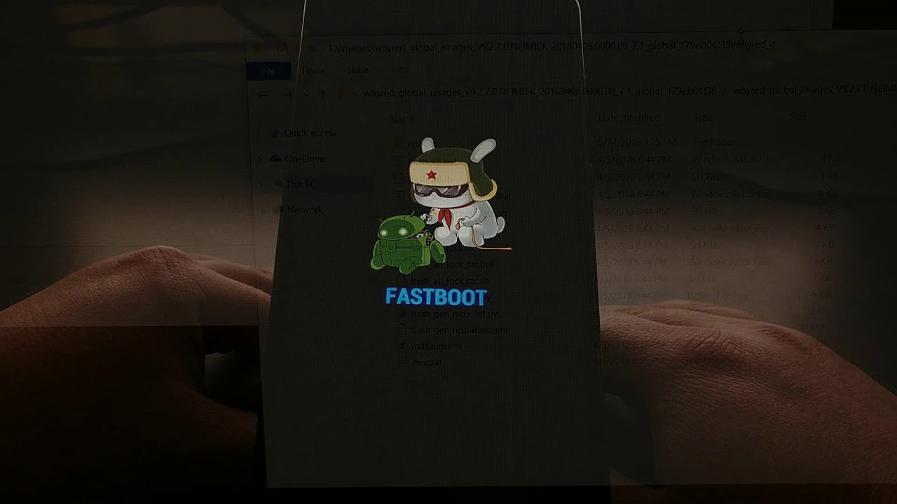 Redmi Note 5 | Installing the Global Stable ROM via Fastboot