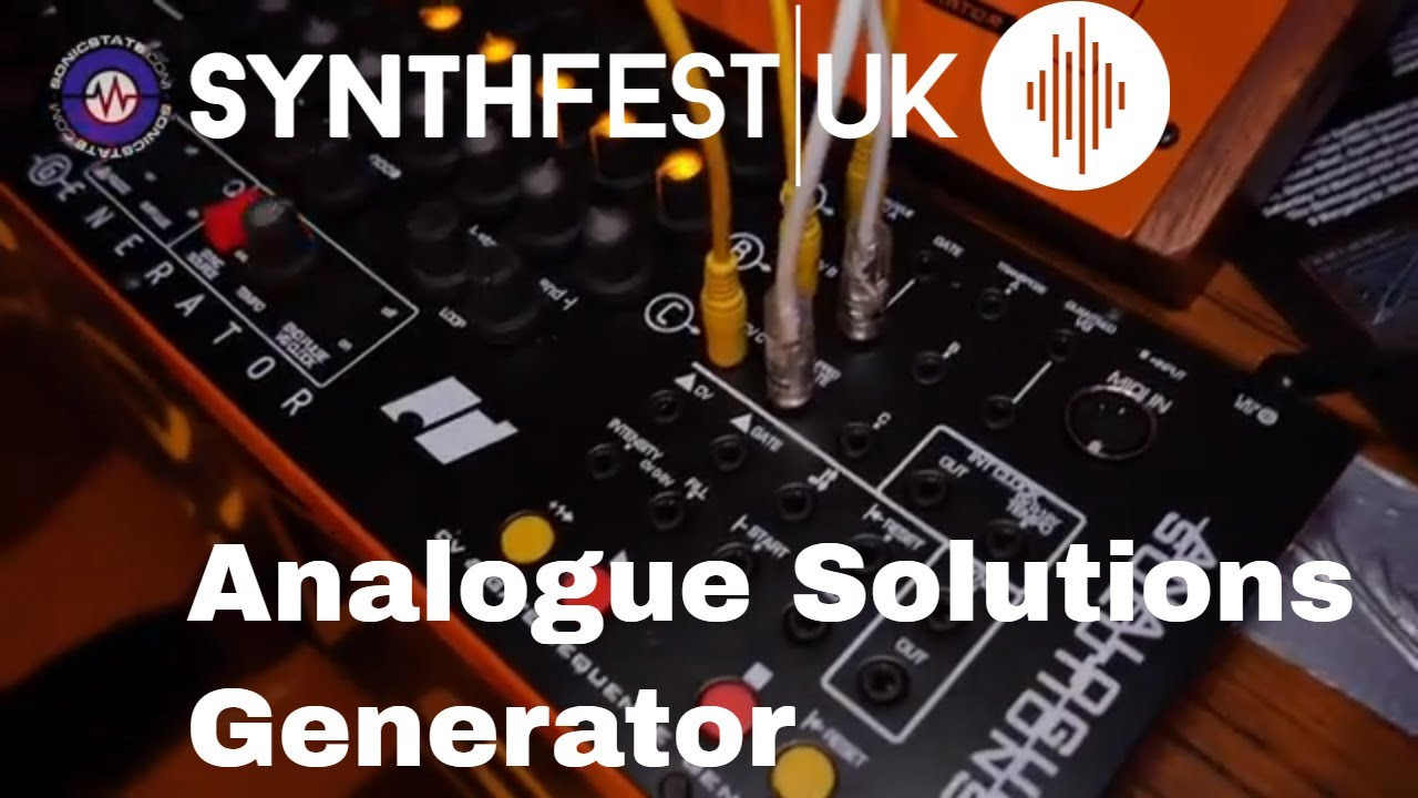 Synthfest 2018: Analogue Solutions Generator Step Sequencer