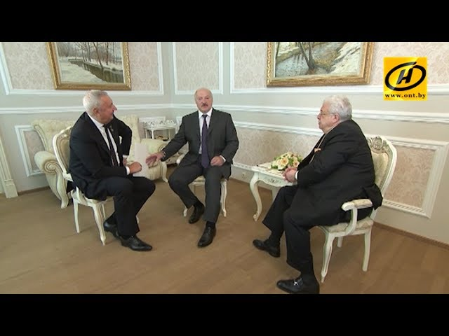 Александр Лукашенко встретился с Виталием Игнатенко и Михаилом Гусманом