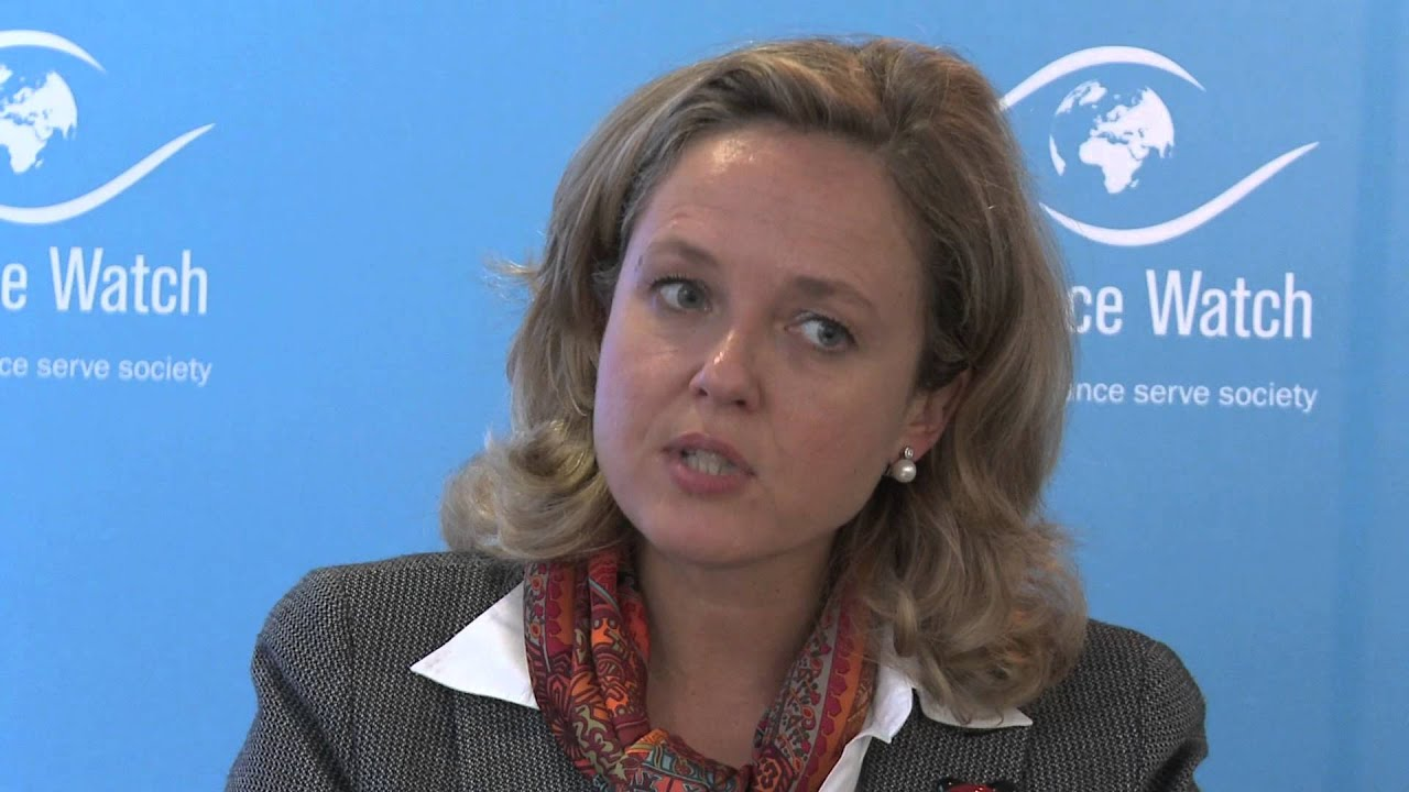 Nadia Calviño, Deputy Director General for Financial Services (European Commission) - YouTube