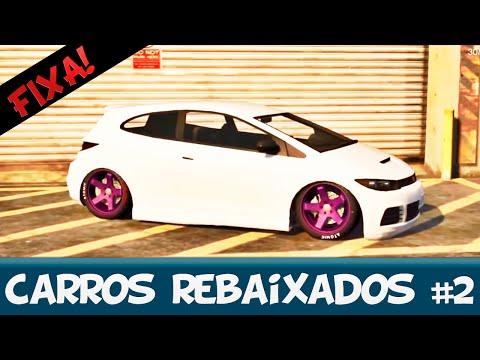 CARROS TUNADOS E REBAIXADOS GTA 5 - #FIXA!