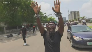 Reaction after deadly violence at End SARS protest in Lagos, Nigeria