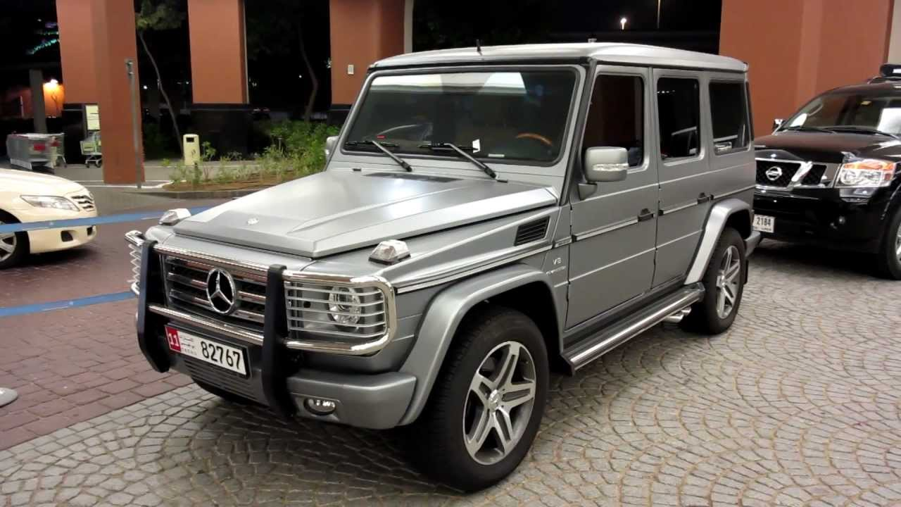Gun Metal Matte Grey G55 Amg Mercedes Benz Youtube