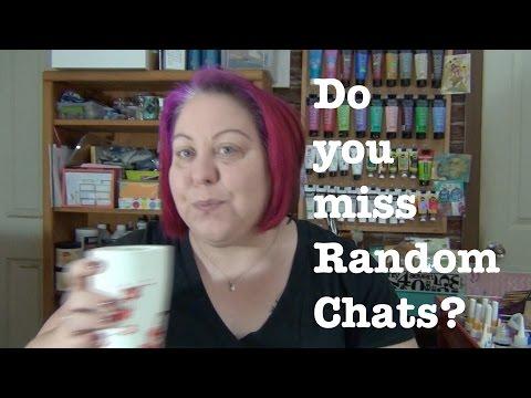 New Art Journal Series, Do you miss Random Chats?