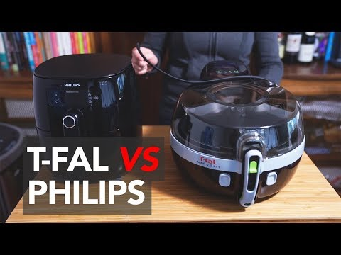 PHILIPS AIRFRYER vs T-FAL ACTIFRY - Comparison